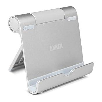Anker Stand Supporto Multi-Inclinazione per tablet, e-reader e smartphone, Google NEXUS 7; iPhone X/8/8 Plus iPad, iPad Retina, iPad Air; Galaxy Note 8, Galaxy Tab 3, Galaxy S5; MeMO Pad, Surface