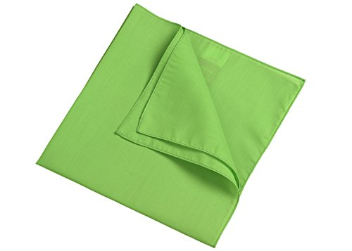 Bandana in lime-green