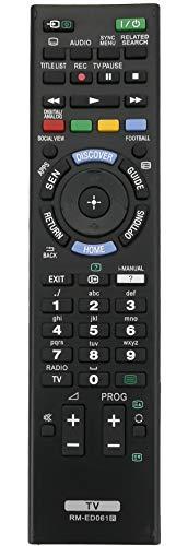 ALLIMITY RM-ED061 Fernbedienung Ersetzen für Sony Bravia TV KD-49X8505B KDL-42W706B KDL-42W805B KD-55X8505B KDL-50W828B KDL-50W829B KDL-55W817B KDL-55W828B KD-55X9005B
