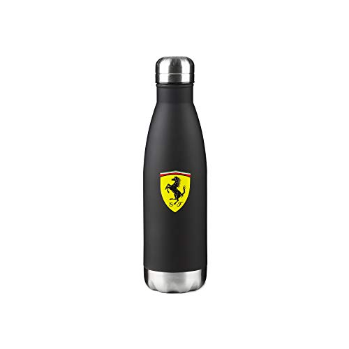 Scuderia Ferrari F1 Trinkflasche schwarz