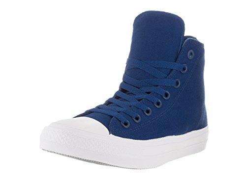 Converse Unisex-Erwachsene Sneakers Chuck Taylor All Star Ii C150148 High-Top sodalite blue/white/navy