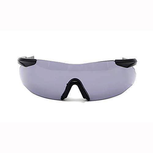 YSAGNZQ Polarized Glasses-UV400-Schutzbrille mit 5 austauschbaren Arbeitsschutzgläsern Outdoor-Reiten Anti Shock Sand Sonnenbrillen