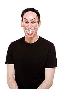 Smiffys 52400 Smiler - Máscara unisex para adultos, color beige, talla única