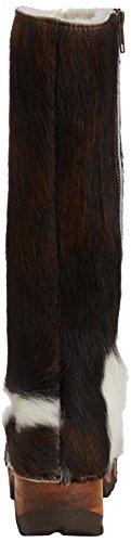 Woody Belinda, Bottes Classics hautes, doublure chaude femme Multicolore - Mehrfarbig (natur)