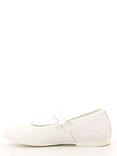Melania, Mädchen Ballerinas - Blanc Cassé - Bianco