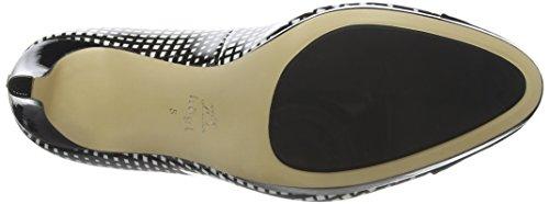 Högl1- 10 8044 - Scarpe con Tacco Donna Nero (Schwarz (0102))