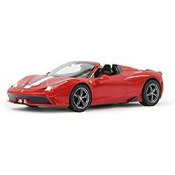 Jamara - 405066 - Ferrari 458 Speciale A 1:14 Rouge Décapotable -
