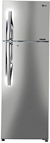 LG 284 L 3 Star Frost-Free Double-Door Refrigerator (GL-C302RPZU, Shiny...