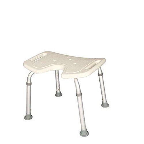 PIGE Viejas sillas de baño de la mujer embarazada y taburetes Apoyabrazos Baño heces antideslizante ajustable en altura
