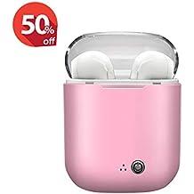 SALPIE Cuffie Bluetooth wirless Senza Fili Sport Cuffie Stereo in-Ear con  Microfono Auricolari Sportivi 21e3722bff7d