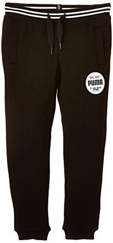 Puma Athl Pantalon Garçon Noir FR : 10 ans (Taille Fabricant : 140)