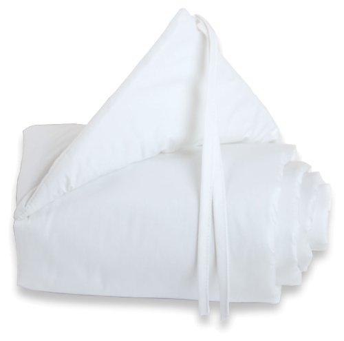 Preisvergleich Produktbild babybay Nestchen Cotton für Maxi und Boxspring, weiß
