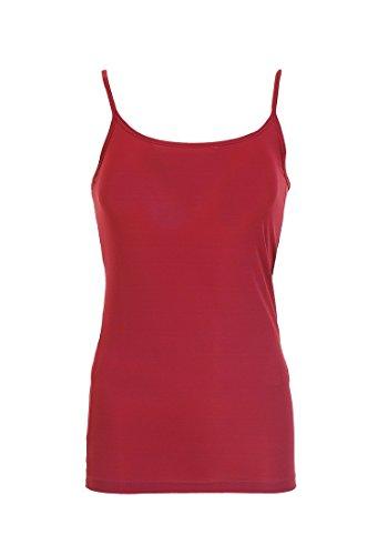 VERO mODA hola singlet t-shirt sans manches pour femme Rouge - Rouge Jester