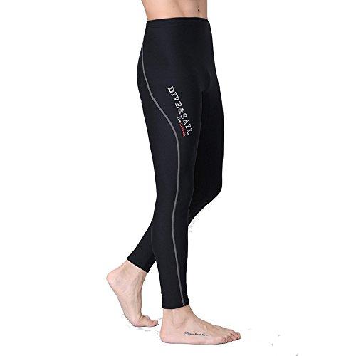 Un punto Muta da immersioni in neoprene da 1,5mm pantswinter nuoto pantaloni men's grey S