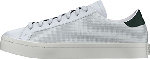 Adidas Court Vantage Homme Baskets Mode Blanc vintage white/chalk white/collegiate green