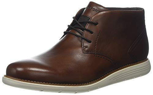 HUWSO #Rockport Herren Total Motion Sport Dress Chukka Boots, ((Tan Leather 005), 40.5 EU