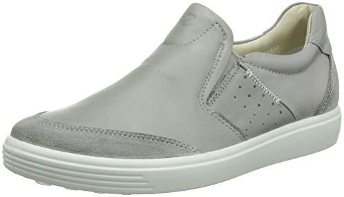 ECCO Damen Soft 7 Ladies Slip On Sneaker, Grau (Wild Dove 51327), 40 EU (Schuh Damen Leder Slip-on)