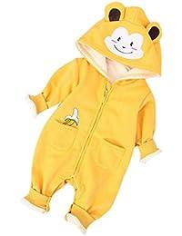 Hellomiko Mono Pijama De Bebé Unisex Mono Estilo Oso Mono Mameluco De Maternidad Mono Recién Nacido
