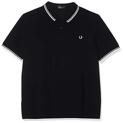 Fred Perry Herren M3600-524-xs Poloshirt, Schwarz (Black 524), X-Small -