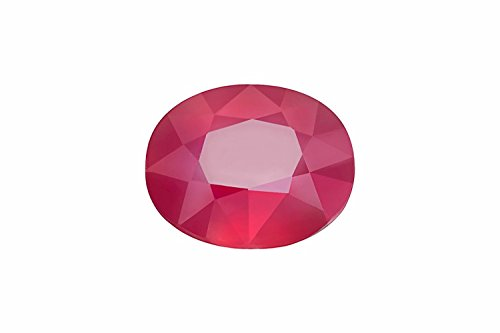Akshay GEMS Ruby/Manik Lab Certified Natural Gemstone 5.25-5.50 Ratti