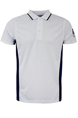 Brave Soul Herren Poloshirt White | Navy Blue