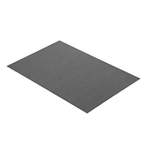 Leoboone 100% 3K Kohlefaser Platte Leinwand mit glänzender Oberfläche, beidseitig 0,5 mm dick (glänzende Oberfläche) 0.5-platte