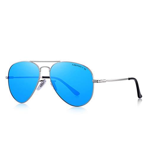 TDPYT Männer/Frauen Classic Pilot Hd Polarisierte Sonnenbrille Aviation Frame Titan Memory Alloy Temple Uv400
