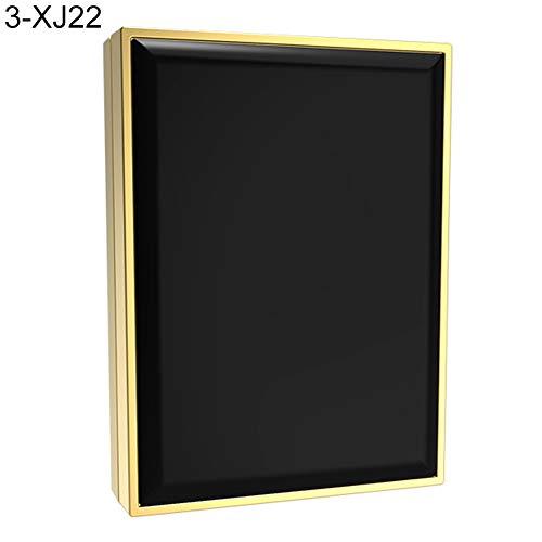 P12cheng Beleuchteter Make-up-Spiegel, doppelseitig, tragbar, LED-Licht, doppelter Spiegel, zusammenklappbar, mit USB-Aufladung, weiß, 03 - Doppelseitige, Beleuchtete Make-up-spiegel