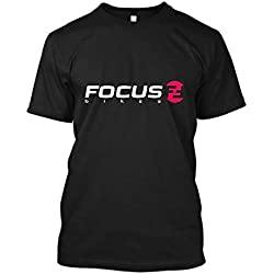 Focus Bike Mountains Sport Bikes Men's T Shirt Summer Fashion Crew Neck Tees Cotton Short Sleeve Black Tops S-3XL