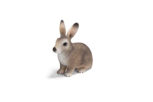 Schleich Action Figures Schleich Wild Rabbit Toy Figure