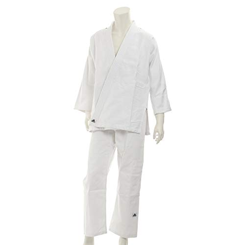 adidas Judoanzug J500 Training, Weiß, 180