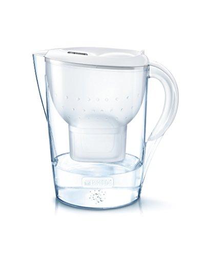Brita Marella XL - Jarra con 2 filtros de agua 3.5 L, color blanco