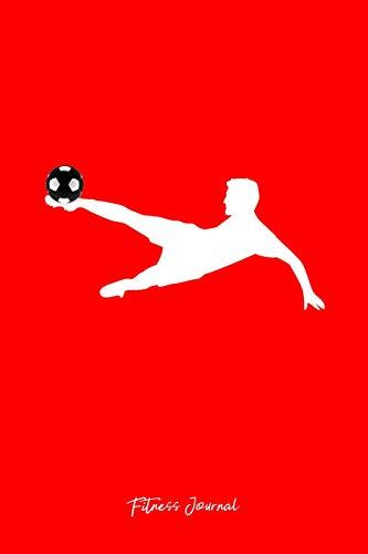 3ae8f88fc3d65 Fitness Journal: Dot Grid Gift Idea - Soccer Fan Player Goalie Goalkeeper  Shirt Fitness Journal
