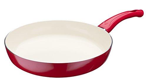 GSW 437851 poêle Ceramica Beige, Revêtement céramique, Beige, 28 cm