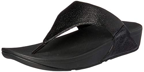 379335933 Fitflop Women s LULU Molten Metal Open Toe Sandals