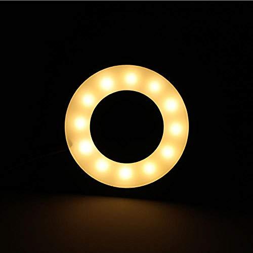 Cosiki LED-Schreibtischlampe, tragbares USB-Ladeaugen-Leselicht Make-up-Clip-Licht für Tätowierung, Augenbrauen, Wimpernverlängerung, Nacht- und Bürobeleuchtung - Licht Lippen-make-up-licht Lippen