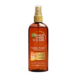 Garnier Amber Solaire Oil Golden Protect SPF15 150ml