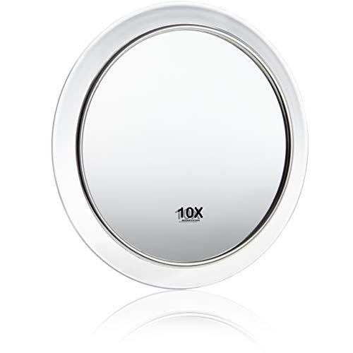 Scopri offerta per Fantasia - Specchio ingrandente 10x con ventosa acrilico ø 15 cm