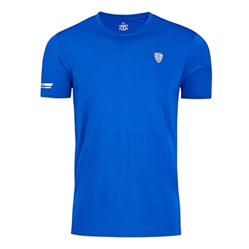 TWISFER Gym Herren Fitness T-Shirt Slim Fit | Moderner Männer Bodybuilder Trainingsshirt Kurzarm Top | Herren Sport T-Shirt - Bekleidung für Bodybuilding Training -
