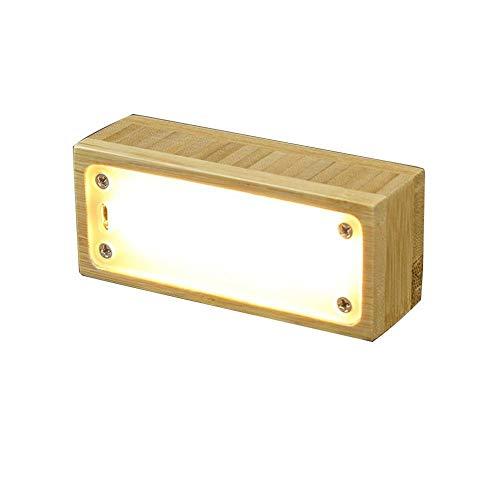 Massivholz Kreatives Design Führte Nachtlicht Usb Neue Exotische Augenschutz Tischlampe Augenpflege Schreibtisch Lampsize: 95 * 40 * 32 Mm / 150 * 30 Mm, C.