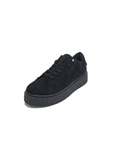 STUDIO CREAZIONI Sneakers Donna Patch Nero Nero