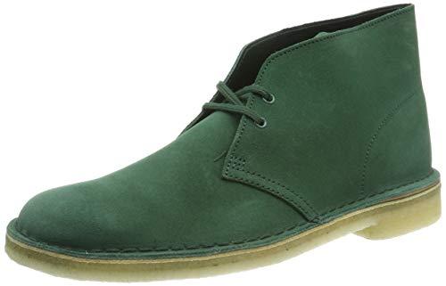 Clarks Originals Herren Desert Boot Klassische Stiefel, Grün Forest Green, 39.5 EU -