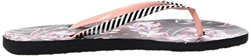 Roxy Portofino, Sandales Plateforme femme Multicolore (BLACK MULTI)