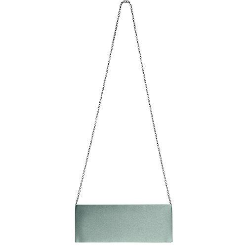 CASPAR Taschen & Accessoires, Poschette giorno donna Platinum