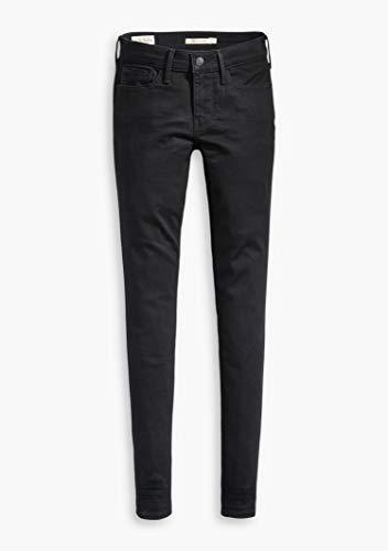 Levi's Damen Innovation Super Skinny Jeans, Schwarz (Black Galaxy 0039), W28/L32 (Herstellergröße: 28 32)
