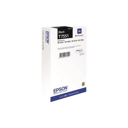 Preisvergleich Produktbild Epson Tintenpatrone XL schwarz T 755 T 7551