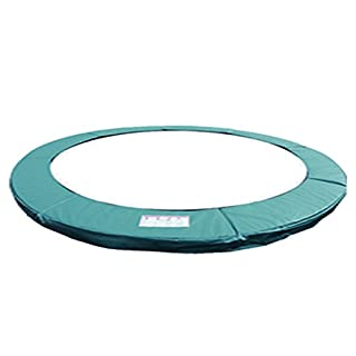 Green 12ft Replacement Trampoline Surround Pad Safety Protection foam padding