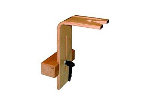 Pebaro Table de serrage avec Klotz – Hauteur réglable de serrage avec bloc