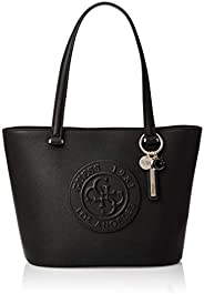 GUESS Women's Celestine Small Tote, Black - VG74