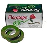 1/2'' X 30 Yard Light Green Floral Tape Packs of 12